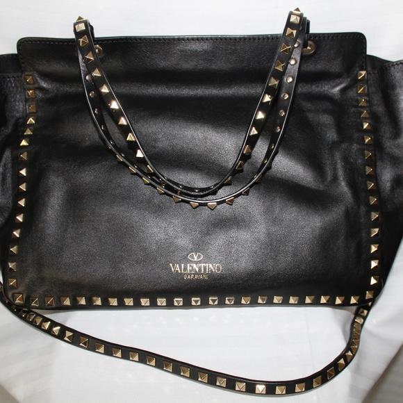 d126b4d6b649b Valentino Garavani Bags | Rockstud Leather Medium Tote | Poshmark